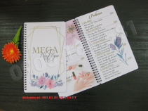 In Menu Nhựa - Menu Spa Nails MEGA - NetVietAd